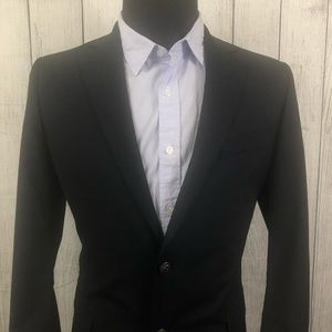 Brooks Brothers 40R Navy Loro Piana Wool Blazer